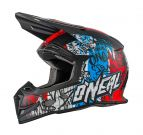 Kask motocross O'neal VANDAL blue/red/white