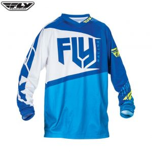 Bluza enduro cross FLY F16 model 2017 Niebieska