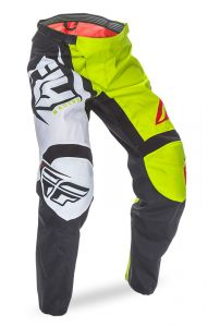 Spodnie enduro cross FLY F16 model 2017 kolor żółty neon