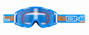 Enduro gogle O'neal B2 THREESIXZERO Clear Blue