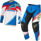 Komplet spodnie bluza mx Alpinestars Supermatic Blue Red White
