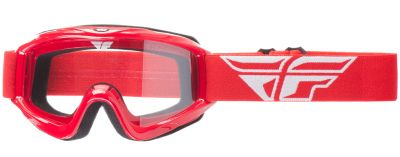 Gogle enduro cross FLY Focus czerwone