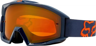 GOGLE FOX MAIN ENDURO NAVY - SZYBA ORANGE DUAL
