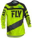 Bluza enduro cross FLY F-16 model 2018 Żółta Fluo