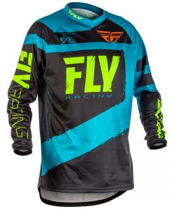 Bluza do enduro FLY F-16 model 2018 Niebieska Błękitna