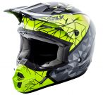 Kask Fly Racing Kinetic Crux Czarny Hi-Vis