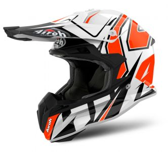 Kask Airoh Terminator Open Vision Shock Pomarańczowy Orange