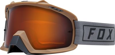 GOGLE FOX AIR SPACE ENDURO GREY - SZYBA DUAL ORANGE