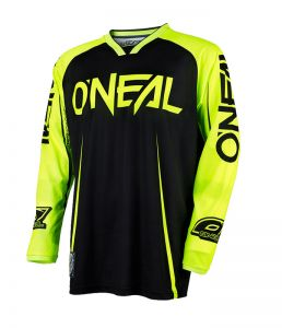 Bluza motocross O'neal Mayhem LITE BLOCKER yellow neon