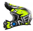 Kask mx O'neal Seria 3 Radium Neon Yellow