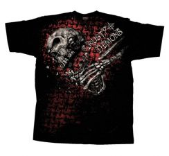 T-shirt Crusty Demons Skull Puncher