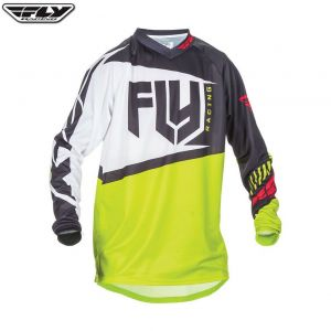 Bluza enduro cross FLY F16 model 2017 Żółta