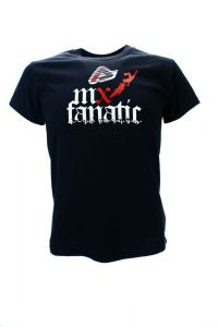 T-SHIRT ACERBIS JUNIOR MX FANATIC Czarny