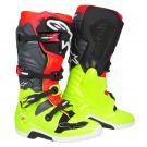 Tech 7  Buty MX | Alpinestars fluo yellow fluo red gray black