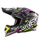 Kask offroad O'neal Seria 8 Synthy Różowy