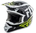 Kask Fly Racing Kinetic Burnish Czarny Hi-Vis