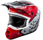 Kask Fly Racing Kinetic Crux Czerwony