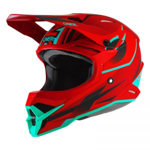 Kask Motocross O`Neal 3SRS RIFF red/teal