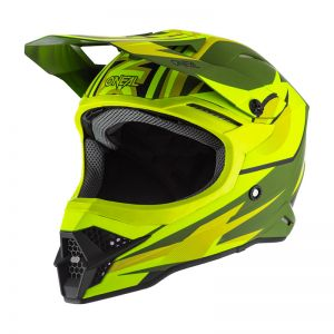 Kask Enduro O`Neal 3SRS RIFF olive/neon yellow