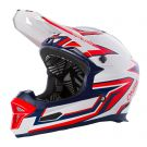Downhillowy Fullface O'neal Fury Rapid silver/red