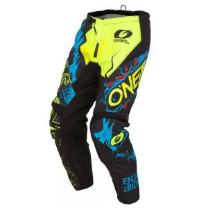 Spodnie Motocross O'neal Element Villain Neon Yellow