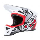 Kask MTB O'neal Blade Polyacrylite  DELTA white/red