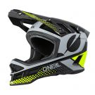 Kask DH O'neal Blade Polyacrylite ACE black/neon yellow/gray