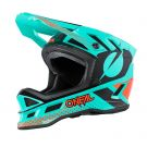 Kask MTB O'neal Blade Polyacrylite ACE mint/orange/black