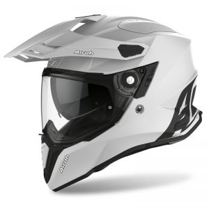 Commander Kask Dual Airoh Concrete Grey Matt