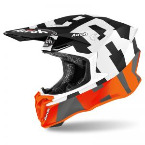 Kask AIROH Twist 2.0 Frame Orange Matt