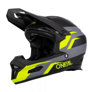 Rowerowy kask O'neal Fury STAGE black/neon