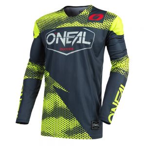 Jersey MTB O'neal Mayhem COVERT Charcoal/neon yellow