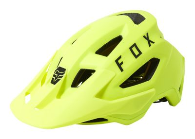 Kask MTB Fox Speedframe Flo Yellow MIPS