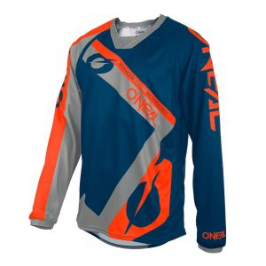 Bluza rowerowa O`Neal ELEMENT FR HYBRID blue/orange